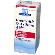 Boericke & Tafel 0468389 Bronchitis and Asthma Aide - 100 Tablets