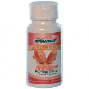 Fruit Advantage 0786434 Heart Health Pomegranate - 60 Vegetarian Capsules