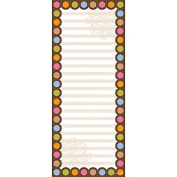 Creative Teaching Press CTP0628 Dots On Chocolate Note Pad