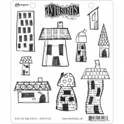 Ranger DYR-34438 Dyan Reaveleys Dylusions Cling Stamp Collection-Right Up Your Street