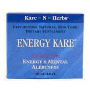 Kare-N-Herbs 0335513 Energy Kare - 40 Tablets