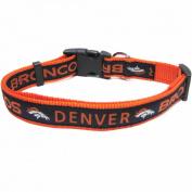 Pets First DBC-L Denver Broncos NFL Dog Collar - Large