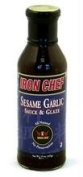 Iron Chef B77815 Iron Chef Sesame Garlic Sauce -6x14 Oz