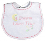 Dee Givens & Co-Raindrops 6847 A Dream Come True Small Bib - Pink