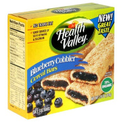 Heath Valley Natural Foods 30996 Organic Blueberry Cobbler Cereal Bar