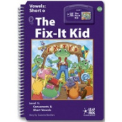 Leap Frog 90569 Tag InterACTIVE Decodable Level 1 Book The Fix-It Kid