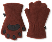 BearHands TF1000BRN Toddler Fleece Mittens - Brown