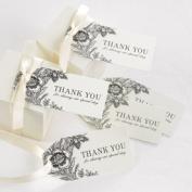 Hortense B. Hewitt 30343 Ivory Vintage Floral Favor Cards