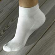 Maggies Functional Organics Socks White 10-13 Sport Socks 218222