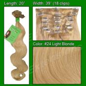 Brybelly Holdings PRBD-20-24 No. 24 Light Blonde - 50cm Body Wave