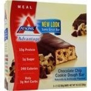 Atkins 0458802 Advantage Bar Peanut Butter Granola - 5 Bars