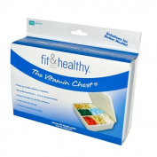 Fit & Healthy 0283077 Vitamin Chest Organizer - 1 Unit