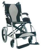 Karman Healthcare S-2501F18SS-TP Ergonomic Wheelchair-Pearl Silver