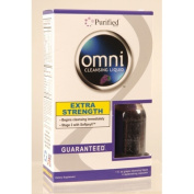 Heaven Sent 0804682 Omni Cleansing Liquid Concentrate Plus 4 Cleansing Caps Grape - 1 oz
