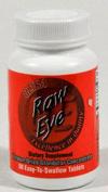 Ultra Glandulars 0439091 Raw Eye - 60 Tablets