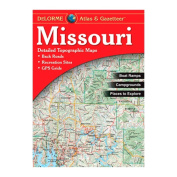 Delorme 240025 Missouri Atlas and Gazetteer
