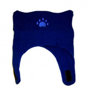 BearHands TC700NVY Toddler Fleece Chin Strap Hat - Navy