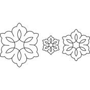 Sten Source Quilt Stencils, 7.6cm 13cm & 18cm C. L. Flowers