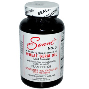 Sonnes 0522771 No. 3 Wheat Germ Oil 627 mg Each 120 Capsules - 120 Caps