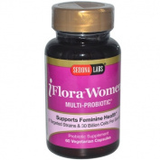 Sedona Labs 0133637 iFlora Probiotics for Women - 60 Vegetarian Capsules