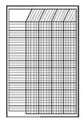 CREATIVE TEACHING PRESS CTP5071 CHART INCENTIVE SMALL WHITE 14 X 22 VERTICAL