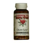 Kroeger Herb 0420299 Olive Leaf 100 Veggie Caps - 100 Caps
