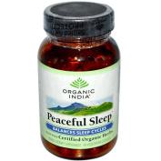 Organic India 0335042 Peaceful Sleep - 90 Vegetarian Capsules