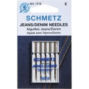Euro-Notions 1712 Jean and Denim Machine Needles-Size 16-100 5-Pkg