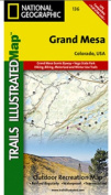 National Geographic TI00000136 Map Of Grand Mesa - Colorado