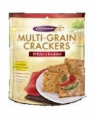 Crunchmaster B20682 Crunchmaster Multi-grain White Cheddar Crackers -12x4.5 Oz