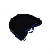 Windsor Direct EQL-TCC-B Trabasack Curve Connect hook and loop Lap Tray and Storage Bag with Blue Trim