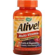 Natures Way 1131259 Alive Multi-Vitamin Adult Gummies - 90 Gummies