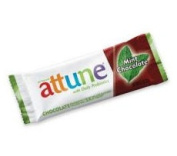 Attune Foods 10394 Mint Chocolate Probiotic Bar