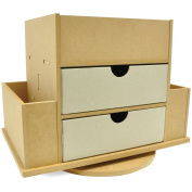 Kaisercraft SB2161 Beyond The Page MDF Craft Caddy-33.7cm . x 26.7cm . x 21.6cm .