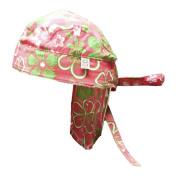 Baby Banz-BDPG Wrapz Bandana - Pink/Green Floral - One Size