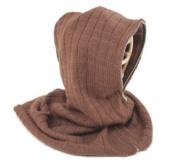 Nirvanna Designs HD01 Hood with Zipper and Fleece Lining - Dark Brown