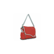 Sailor Bags 321-RG Messenger Bag, True Red with Grey Trim