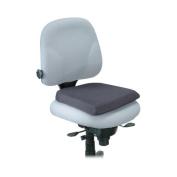 Kensington KMW82024 Seat Rest- Visco Elastic- 14-.130cm .x5.1cm .x13-.130cm .- Black