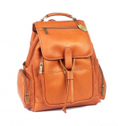 Claire Chase 332E-saddle Uptown Bak-Pak - Saddle