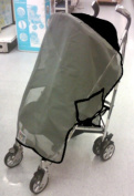 Sasha Kiddie Icoo 3 Icoo Pluto Single Stroller Sun and Wind Cover - Stroller Not Included