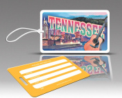 Insight Design 770746 TagCrazy Luggage Tags- Tennessee- Set of Three