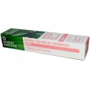Desert Essence - Tea Tree Oil Toothpaste Ginger, 180ml toothpaste