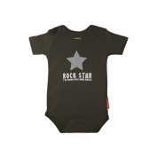 Silly Souls BH-7a-18 Rock Star 18 Month Bodysuit- Black