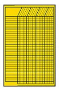 CREATIVE TEACHING PRESS CTP5072 CHART INCENTIVE SMALL YELLOW 14 X 22 VERTICAL