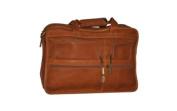 David King & Co 180T Expandable Laptop Bag- Tan