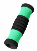 Sky Med SM-017001GB Cane Replacement Offset Hand Grip- Green/Black