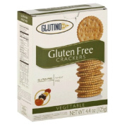 Glutino 38839 6x 125 GM Vegetable Crackers