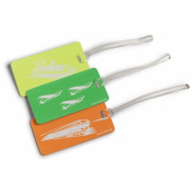 Lewis N Clark 744418 Neon Id Tag - Assorted