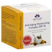 Derma E Facial Moisturiser Anti-Ageing Moisturising Complex SPF 15 60ml 218710