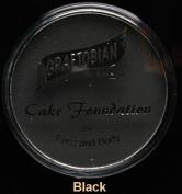 Graftobian 194951 Professional Cake Eyeliner Pan- Black- Black